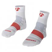 Ponožky RXL 2.5 (6cm) biela /Vel:M (40-42)