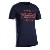 Tričko Trek USA Script navy/Vel:S