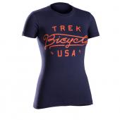 Tričko Trek USA Script WSD navy/Vel:M