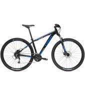 Bicykel Marlin 7 16 čierna/modrá /Vel:17.5 29