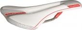 Sedlo TURNIX AF Micro/Ti bielo/šedé/červené 132mm 205g