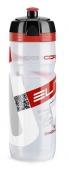 Fľaša SUPERCORSA číra červené logo 750ml