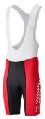 Nohavice Print SHIMANO s trakmi červené /Vel:XL