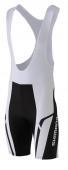 Nohavice Print s trakmi biele /Vel:XL