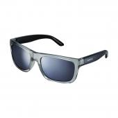 Okuliare S23X transparent šedo/čierne smoke