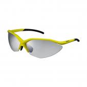Okuliare S52R matné žlto/čierne fotochromatické šedé/žlté