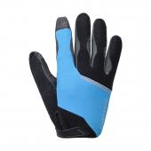 Rukavice Original dlhé čierno/modrý /Vel:L
