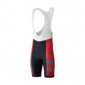 Nohavice Shimano Team s trakmi červený /Vel:XXL