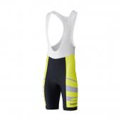 Nohavice Shimano Team s trakmi neon žltý /Vel:XL