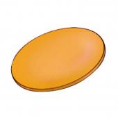 Šošovky GLOW oranžové