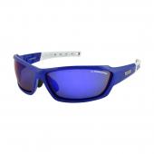 Okuliare WIND FF modrá/biela, sklá Mirror