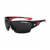 Okuliare ARETA čierne/červené