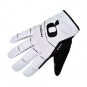 Rukavice RIDER WOV biela/čierna /Vel:XL