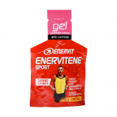 Gél ENERVITENE SPORT malina+kofeín 25ml