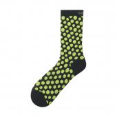 Ponožky Shimano Original TALL 2019 čierno-žlté /Vel:M-L (41-44) AAAA
