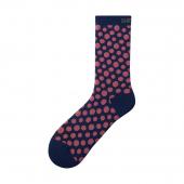 Ponožky Shimano Original TALL modro-ružové /Vel:S-M (36-40)