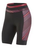 Nohavice dámske ELITE PURSUIT čierno/červené /Vel:M