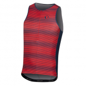 Singlet ELITE PURSUIT GRAPHIC TRI červený /Vel:M