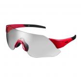 Okuliare AEROLITE červené fotochromatické šedé