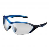 Okuliare S71R matné metalické modré  fotochromatické šedé