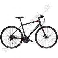 Bicykel Trek FX 3 D 2018 matná čierna /Vel:17.5