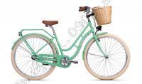Bicykel CTM SUMMER mentolová 2018 /Veľ:18