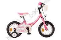 Bicykel Dema FUNNY 12 ružový