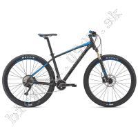 Bicykel Giant Talon 0 matná čierna modrá 2019 /Vel:L 29