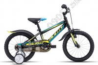 Bicykel CTM Tommy čierna/žltá /Vel:16