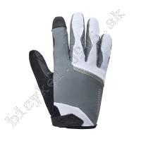 Rukavice Original dlhé bielo/šedé /Vel:XL