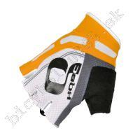 Rukavice COOLER WOV BioGel biela/oranžová /Vel:L