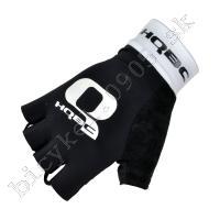 Rukavice PRO WOV Gel čierna/biela /Vel:M
