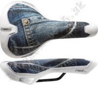 Sedlo NET Jeans Fec/AM 360g