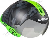 Prilba WASP AIR TRI  matná čierna Camo reflex zelená/Vel:55-61