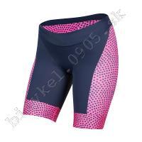 Nohavice dámske ELITE GRAPHIC TRI modro-ružové /Vel:M