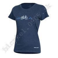 Tričko dámske GRAPHIC modré /Vel:L