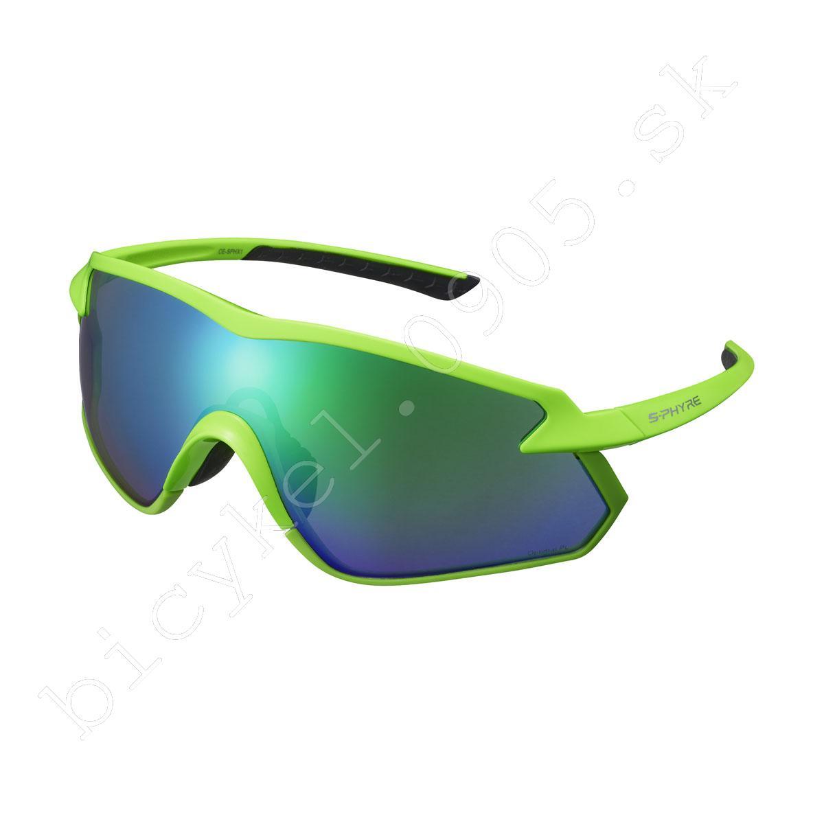 2b68247b2 bicykel,bicykle Okuliare S-PHYRE X neon zelené Optimal PL MLC/cloud ...